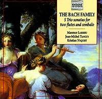 Bach:Flute & Harpsichord Sons