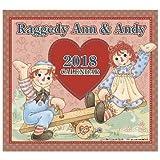 ラガディ アン&アンディ2018年壁掛けカレンダー