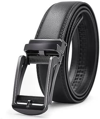 「ロマネ・コンティ」 ベルト メンズ 革 ブラック ブラウン オートロック式バックル レザー 紳士 穴無し ビジネス カジュアル カットフリータイプ 箱付き 115cm 125cm