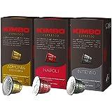 キンボ ネスプレッソ 互換カプセル ナポリ 100カプセル入 1箱10カプセル x 10箱 (ミックス)