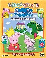 Nel mondo delle fiabe con Peppa. Giocastorie Peppa Pig. Con adesivi