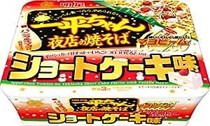 明星 一平ちゃん 夜店の焼そば ショートケーキ味  110g×12個