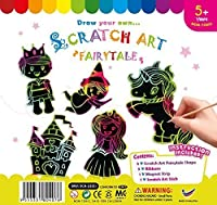 SK ScratchアートFairytales (5パック)