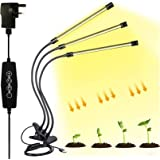 Oksoar Grow Light for Indoor Plant 10 Dimmable Levels Spectrum LED Plant Lights with Auto On/Off 3/9/12H for Indoor Plants Ad