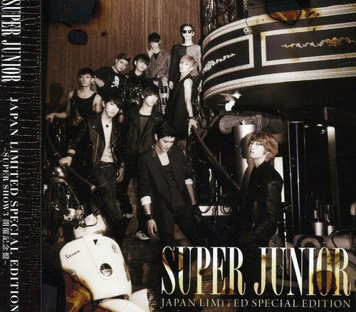 SUPER JUNIOR  JAPAN LIMITED SPECIAL EDITION   -SUPER SHOW3 開催記念盤- (DVD付)