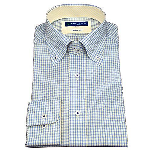 シャツハウス形態安定加工・ボタンダウン・チェック・ドレスシャツ
