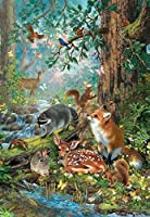 Gathered in the Forest 100 Piece Jigsaw Puzzle by SunsOut