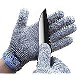 Ministore 防刃 グローブ 防刃手袋 作業用手袋 作業グローブ カットガード 切れない手袋 耐切創レベル5 MN- 001