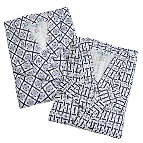 【Lサイズ】ガーゼ寝巻き 紳士用 安心安全の日本製 パジャマ...