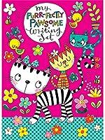 レイチェルエレンデザイン - 猫による子供の手紙ライティングセット財布