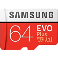 Samsung EVO Plus マイクロSDカード 64GB microSDXC UHS-I U1 100MB/s F…