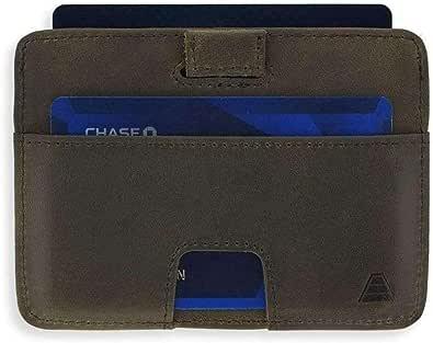 ANDAR THE TURNER 財布 メンズ 本革 レザー 薄型 コンパクト ブランド カードケース カード入れ スキミング防止