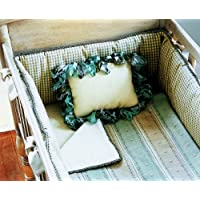 Green Frog Art Decorative Cradle Pillow, Kensington by Green Frog Art