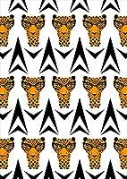 igsticker ポスター ウォールステッカー シール式ステッカー 飾り 841×1189㎜ A0 写真 フォト 壁 インテリア おしゃれ 剥がせる wall sticker poster 011656 動物 アニマル ヒョウ