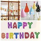 ネクシード(nexeed) happybirthday 誕生日 飾り 3点セット パーティー グッズ