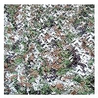 迷彩ネット カモフラージュネット,ジャングルカモフラージュネット.キャンプ、隠された狩猟のテント、迷彩、サンシェード、バードウォッチング、野生動物の撮影、パーティー、ハロウィーン、クリスマスの装飾に使用することができます キャンプ (Color : D, Size : 6*6m)