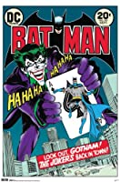 NMR 6846F Joker Cover Decorative Poster by NMR