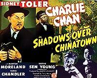 シャドウover Chinatown映画ポスターまたはキャンバス 24 x 30