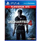 Sony Uncharted 4 (English Jacket) PlayStation Hits, PS4