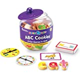 Learning Resources LER1183 Goodie Games ABC Cookies,89 Pieces,Multi-Color