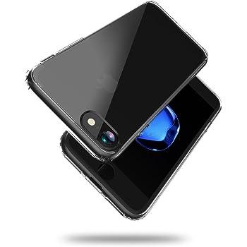 iPhone7 衝撃吸収 クリア ケース 透明 ハイブリッド コーナーエアクッション 硬度6H クリスタル カバー HYB-I7-CLR682