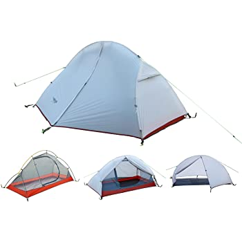 Luxe Tempo 1人用 テント 軽量 アウトドア 登山 キャンプ用品 防水 グランドシートを送ります