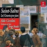Aldo Ciccolini - Saint-Saens: Piano Concertos Nos.1-5 (2CDS) [Japan CD] WPCS-23173 by Aldo Ciccolini