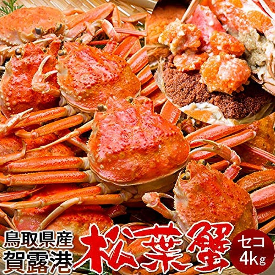 達成するあなたのもの伝統的かに 松葉ガニ セコガニ[メス大]4kg 松葉蟹 ボイル ゆでがに 鳥取県産 せこ蟹 セイコ蟹 マツバガニ 日本海ズワイガニ