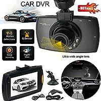 Sedeta® HD車のカメラのGPS 720P 2.4インチ車のDVRカメラレコーダーナイトビジョンダッシュカムGセンサーブラック