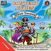 Learning Well Context Clues Pirate Treasure Game, Red Level [並行輸入品]