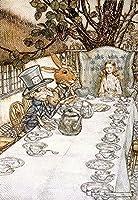 不思議の国のアリスTea Partyヴィンテージポスター(アーティスト: rackhaw ) C。1907年 9 x 12 Art Print LANT-59716-9x12