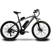 Cyrusher T8 電動マウンテンバイク 男子電動アシスト自転車 マウンテンバイク サスペンション MTB 17x26インチ 240w 48V10Ah 21段変速 公道走行と防犯登録可能