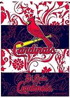 ST LOUIS CARDINALS Ricoプレミアム両面ガーデン旗アウトドアHouse Banner野球