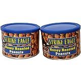 【2缶セット】ハニーローストピーナッツ227gx2缶 ストライクイーグル アメリカ産 Strike Eagle Honey Roasted Peanuts ピーナツ