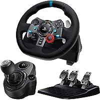 Logitech G29 Driving Force Feedback Racing Wheel Shifter付き シ…