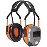 Tactix Bluetooth Safety Ear Muffs - Ear Hearing Protection, Noise Cancelling Ear Defenders Muff for Adults Kids Construction