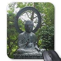 Zazzle Buddha Statueマウスパッド