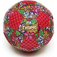 Fun Gripper 8.0 Tropicデザインサッカーボールサイズ( 4 ) (レッド) by : Saturnian I