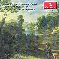 Telemann: Quadri by Boston Museum Trio (1995-11-21)