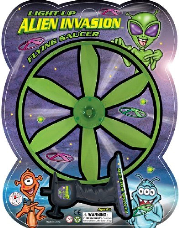Aeromax Alien Invasion Light Up Flying Saucer [並行輸入品]