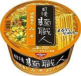 日清 麺職人 味噌 97g×12個