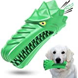 Dog Toys,Dog Chew Toys for Aggressive Chewers Large Medium Breed Indestructible Squeaky Tough Durable Interactive Dog Toothbr