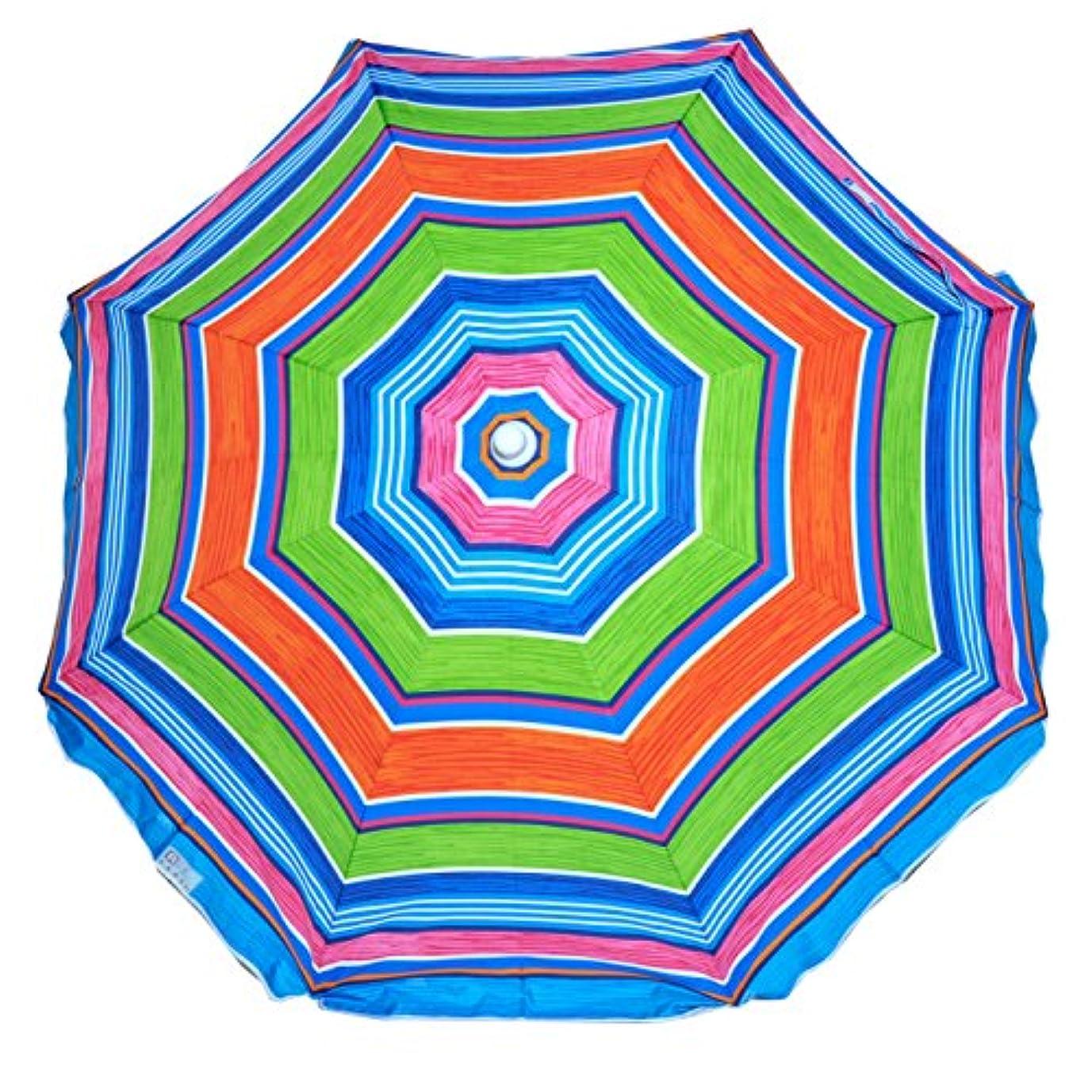 シダバトル過半数Rio ビーチ Deluxe Sunshade Umbrella-【並行輸入品】
