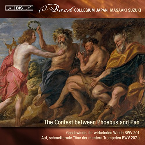 J.S.バッハ : 世俗カンタータ Vol.9 / 鈴木雅明 | バッハ・コレギウム・ジャパン (J.S. Bach : The Contest between Phoebus and Pan / Masaaki Suzuki | Bach Collegium Japan) [SACD Hybrid] [Import] [日本語帯・解説・対訳付]