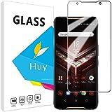 ASUS ROG Phone II ガラスフイルム ZS660KL フイルム【2枚セッ】 日本旭硝子製 強化ガラス 液晶 保護フィルム 貼り付け簡単 硬度9H 防指紋 透過率98.5%