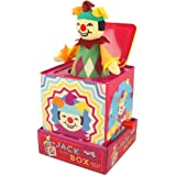 Majigg Jack in The Box Clown Figure Kids/Children Classic Musical Pop Up Toy