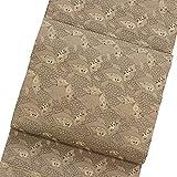 袋帯 正絹 着物 きもの 丸帯 アンティーク 葉模様 金糸 和服 和装 リサイクル【中古】 70186741