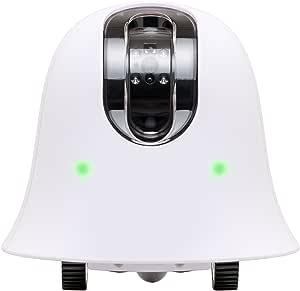 ilbo 移動式 お留守番 ネットワークカメラ 遠隔操作で場所の移動ができるカメラ(前進・後進・左右旋回) Wi-Fi接続 スマホ・タブレット対応