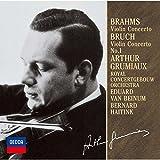 ブラームス:ヴァイオリン協奏曲/ブルッフ:ヴァイオリン協奏曲第1番 画像