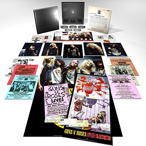 Appetite for Destruction [Super Deluxe Edition][4CD+1 Blu-ray]